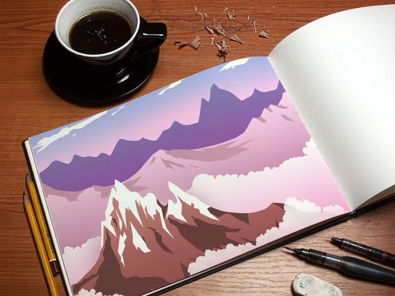 Разработка и рисование иллюстраций