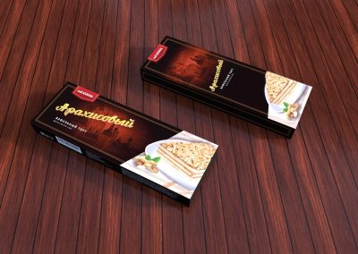 Упаковка арахисового торта